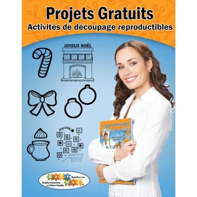 Projets Gratuits : activités de découpage reproductibles (Français)