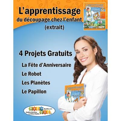 (FRENCH) Extrait de l'apprentissage du découpage (gratuit)