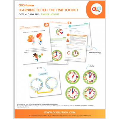 "Learning to tell the time ""TEACHING""  toolkit"